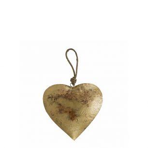Le coeur or corde 13cm