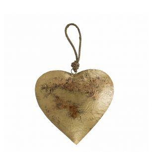 Le coeur or corde 21cm