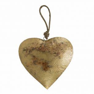 Le coeur or corde 31cm
