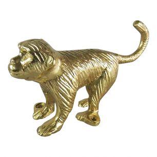 Portemanteau singe d'or