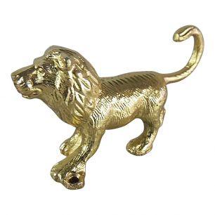 Portemanteau lion d'or