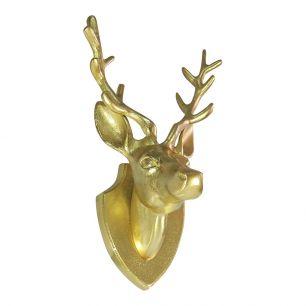 D'or tête de cerf 33cm