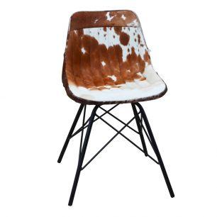 Chaise vache marron blanc x (à monter soi-même)