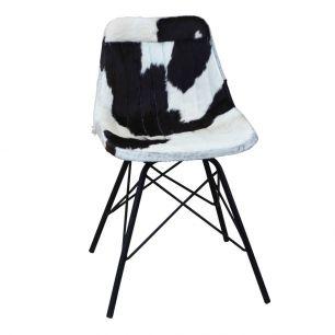 Chaise vache noir blanc x (à monter soi-même)