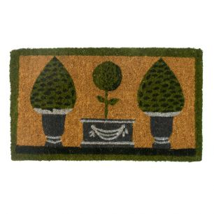 Paillasson en coco fait main 3 topiary
