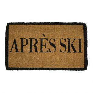 Paillasson en coco fait main apres ski
