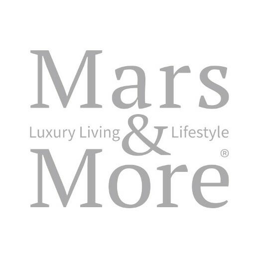 Planteur vache sur pied noir/blanc 35cm