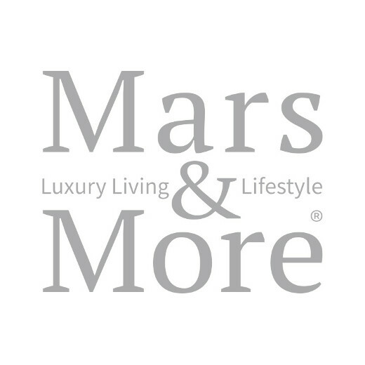 Coussin velours nature herbe ornementale 45x45cm