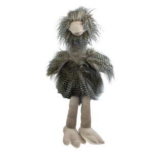 Doudou cheveux longs autruche 43cm