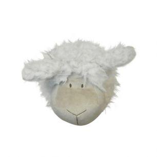 Doudou tête de mouton 14cm