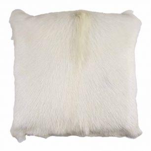 Coussin chèvre blanc 40x40cm