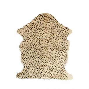 Peau chèvre léopard brun 60x90cm