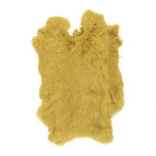 Peau lapin or jaune