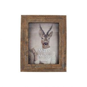 Cadre photo imprimé bois nature 15x20cm