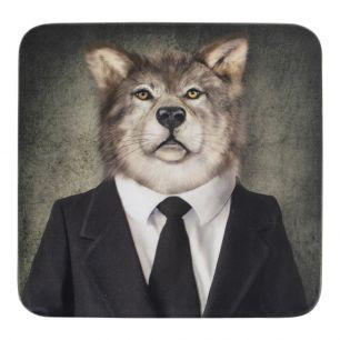 Dessous de verre mr. loup (6)